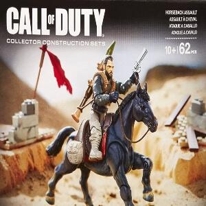 Juguete personaje con caballo Call of Duty
