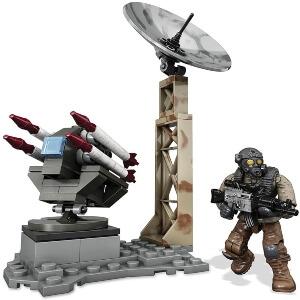 Juguete personaje con cohetes Call of Duty