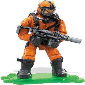 Juguete personaje con mascara Call of Duty