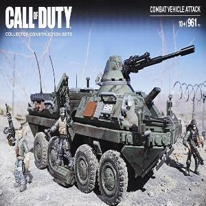 Juguete personajes con tanque Call of Duty