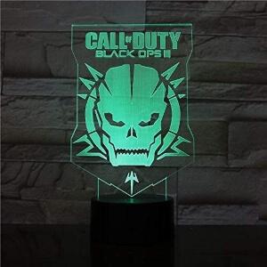 Lampara calavera de saga Call of Duty