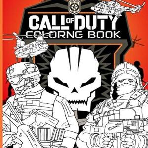 Libro para pintar Call of Duty Black Ops 2