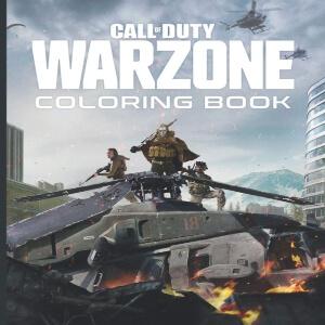 Libro para pintar Call of Duty Warzone