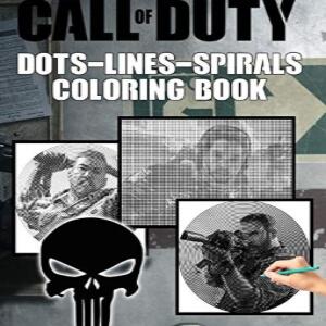 Libro para pintar cadaver Call of Duty