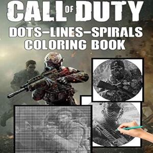 Libro para pintar combatientes Call of Duty