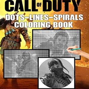 Libro para pintar muchos personajes Call of Duty