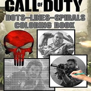 Libro para pintar multiples personajes Call of Duty