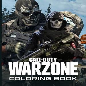 Libro para pintar personajes Call of Duty Warzone