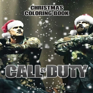Libro para pintar personajes Call of Duty con gorro