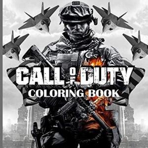 Libro para pintar soldado Call of Duty