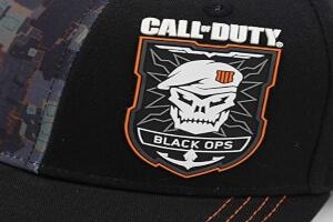 Logo Black Ops gorras Call of Duty