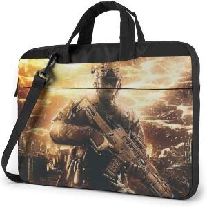 Maletin soldado primer plano Call of Duty
