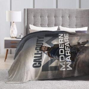 Mantas de Call of Duty en la cama