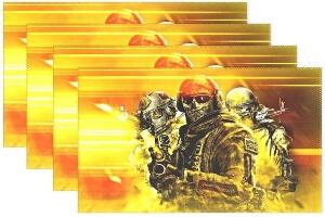 Mantel tres soldados Call of Duty