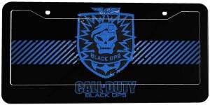 Marco de matricula de Call of Duty Black Ops