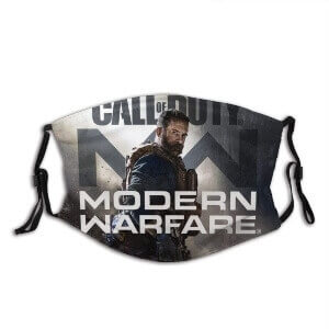 Mascarillas Call of Duty para el invierno