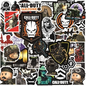 Muchas pegatinas Call of Duty