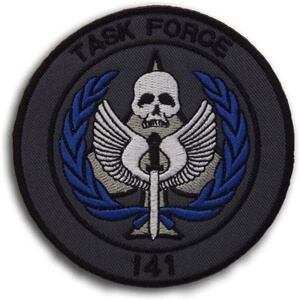 Parche task force negro Call of Duty
