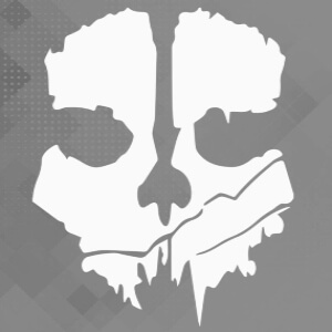 Pegatinas logotipo Call of Duty Ghosts
