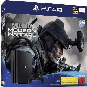 Playstation 4 con el Call of Duty Modern Warfare