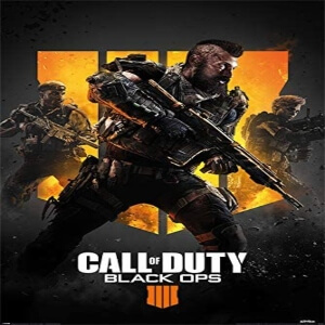 Poster Call of Duty Black Ops 4
