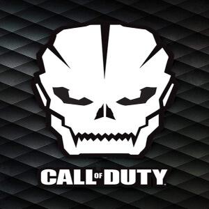 Poster Call of Duty calavera
