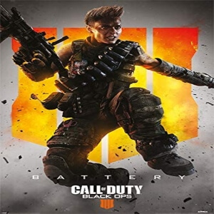 Poster battery Call of Duty Black Ops 4