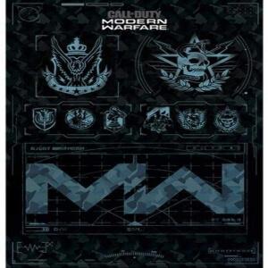 Poster logotipo Call of Duty Modern Warfare