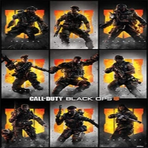 Poster personajes Call of Duty Black Ops 4