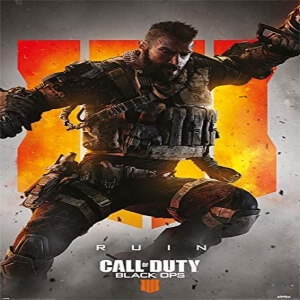 Poster ruin Call of Duty Black Ops 4