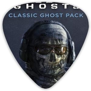 Puas cara soldado de Call of Duty para guitarra