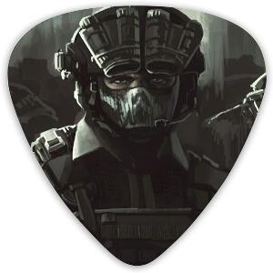 Puas soldado de Call of Duty para guitarra