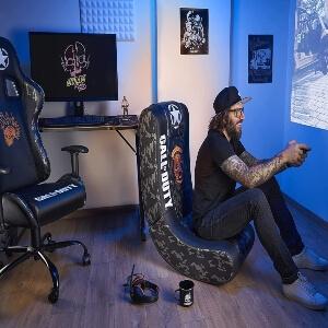 Sillas gaming de Call of Duty para jugar comodo