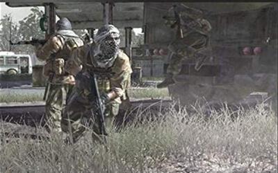 Soldados del Call of Duty Modern Warfare