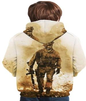 Sudadera combatiente de Call of Duty para niños