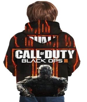 Sudadera de Call of Duty Black Ops 3 para niños