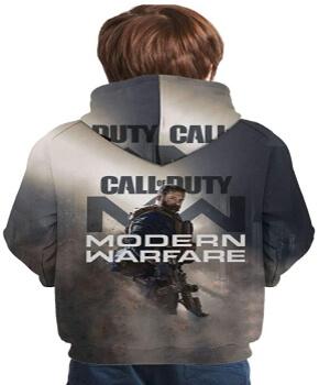 Sudadera de Call of Duty Modern Warfare para niños