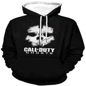 Sudadera logotipo Call of Duty Ghosts para adultos