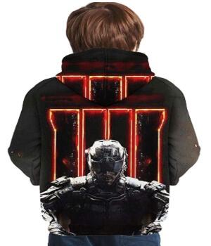 Sudadera soldado de Call of Duty Black Ops 4 para niños
