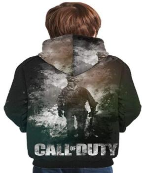 Sudadera soldado de Call of Duty para niños