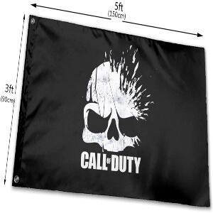 Tamaño de las banderas de Call of Duty