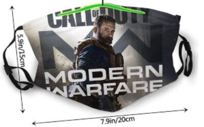 Tamaño de las mascarillas de Call of Duty