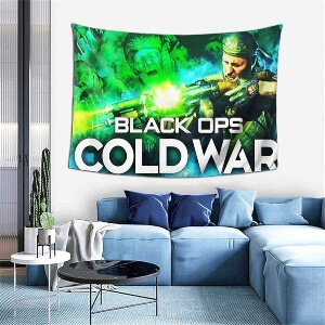 Tapiz verde de Call of Duty Black Ops Cold War
