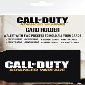 Tarjetero negro de Call of Duty Advanced Warfare