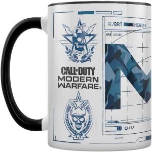 Taza Call of Duty Modern Warfare dibujo