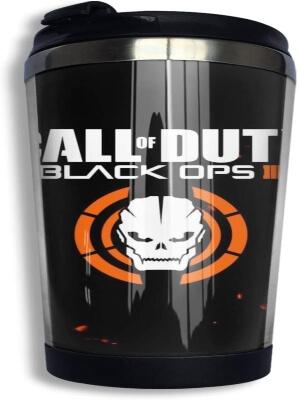 Taza con tapa de Call of Duty Black Ops 2
