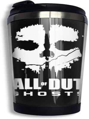 Taza con tapa de Call of Duty Ghosts
