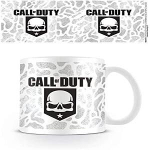 Taza de un craneo Call of Duty
