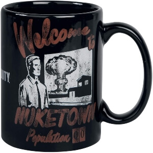 Taza welcome to nuketown Call of Duty