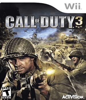 Videojuego Call of Duty 3 Wii